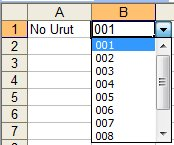 Membuat Drop Down List Pada Cell Microsoft Excel