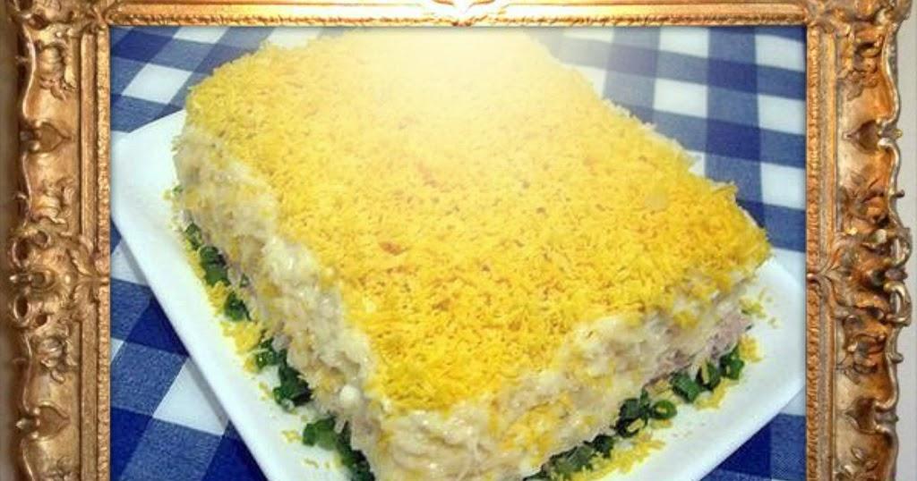 Салат с языка рецепт с