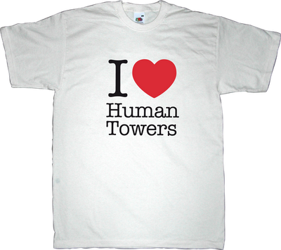 new york city human towers catalonia castellers castellers de vilafranca t-shirt ephemeral-t-shirts