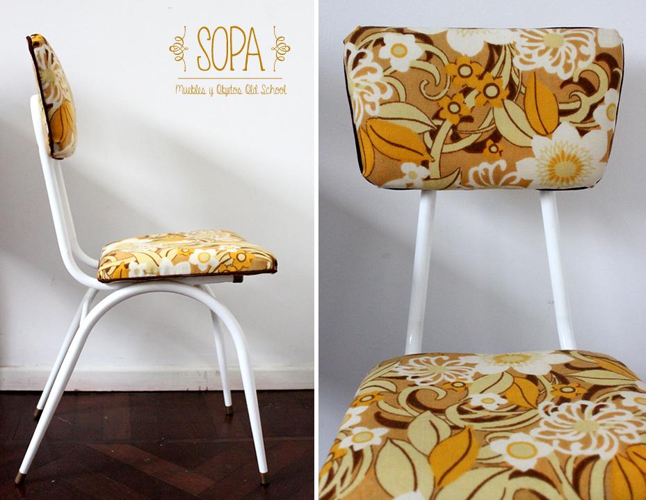 Sopa muebles y objetos old school silla dise o a os 39 60 39 70 - Sillas anos 60 ...