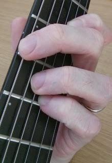 Amaj7#11 guitar chord