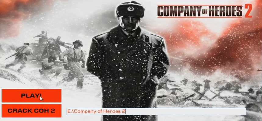 Install Company of Heroes 2. If Company of Heroes 2 requires key star