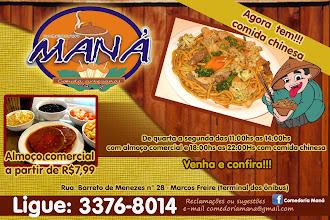 MANÁ - COMIDA CHINESA
