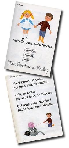 Caroline et Nicolas, A l'aube de l'école, Apprentissage de la lecture