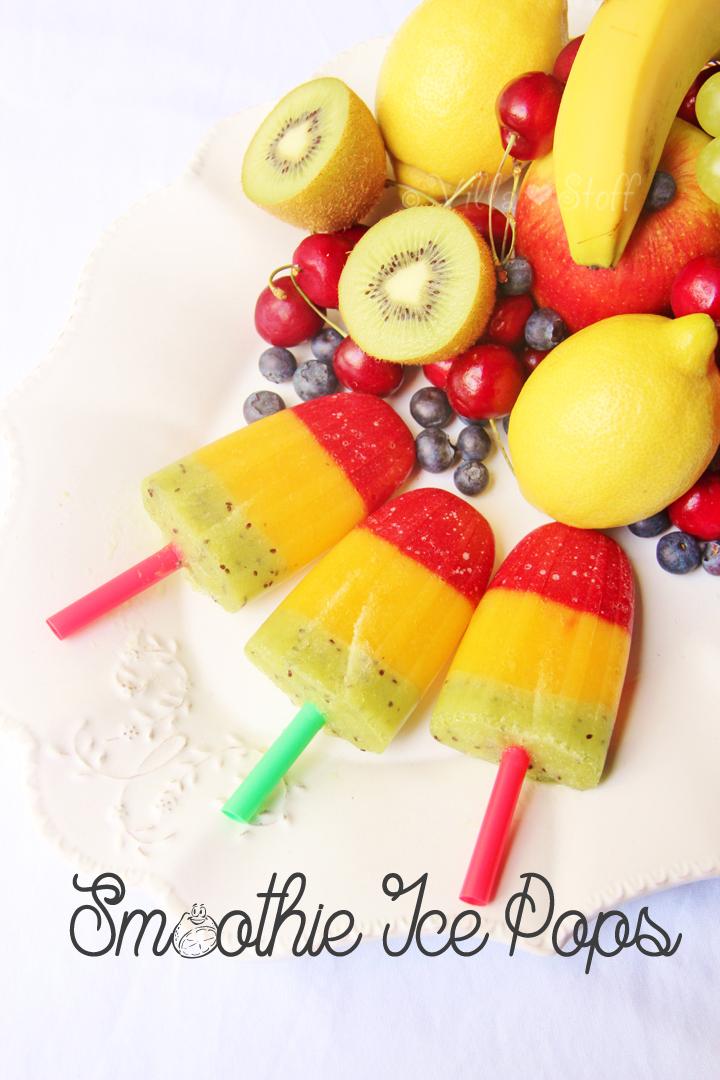 gesundes Eis selbermachen | Smoothie Eis am Stiel