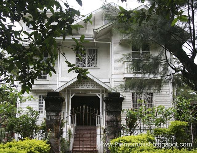 Haunted house entrance
