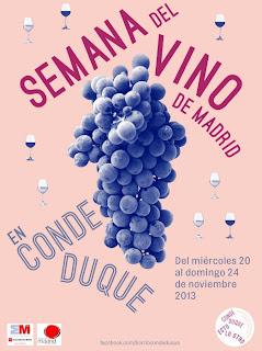 I Semana del Vino de Madrid Conde Duque