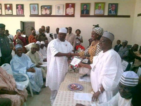 News : Kogi governor-elect receives certificate of return [ Photos ]