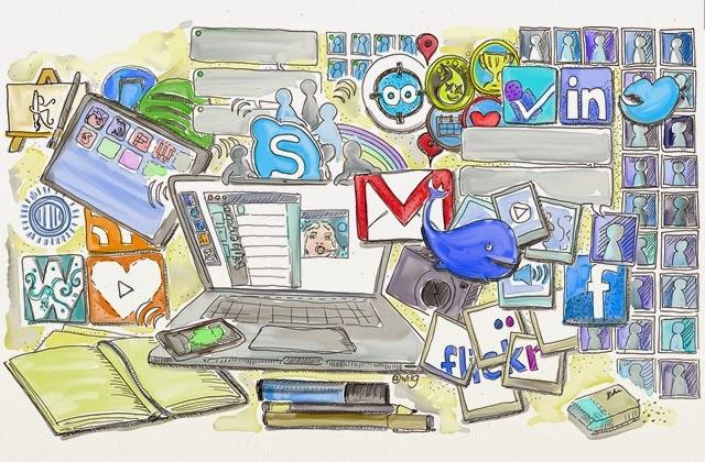 Redes sociales y sus características.
