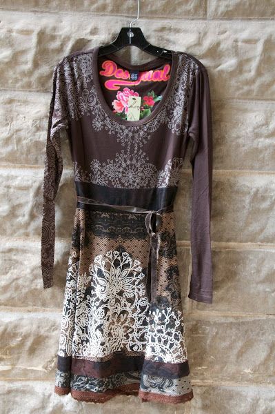 Printed Lace knit dress, S-XL $106