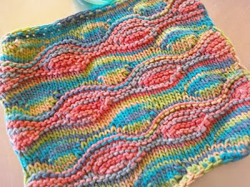 Modified Lizard Ridge Washcloth