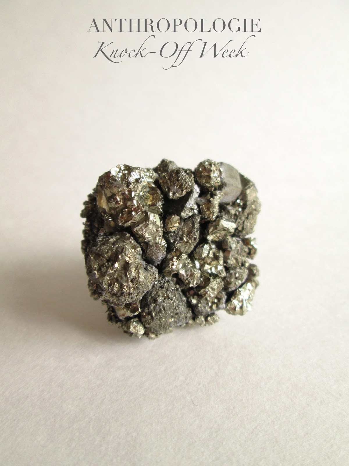 Anthropologie Precious Stone Knob