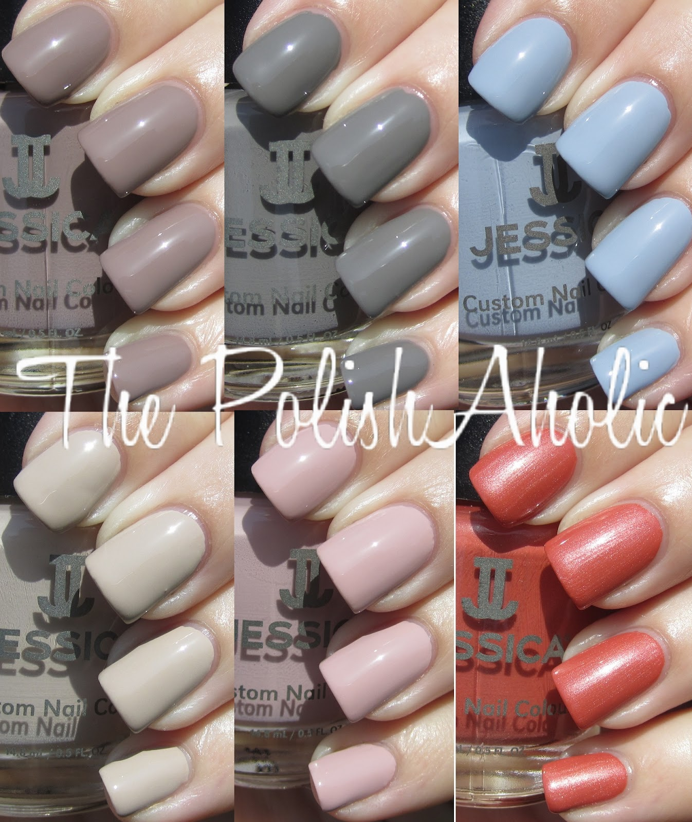 The PolishAholic: Jessica Awakening Collection Swatches!
