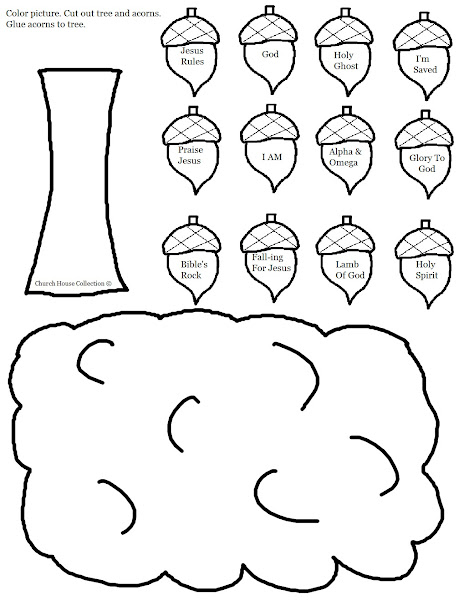 Fall Acorn Coloring Pages Printable