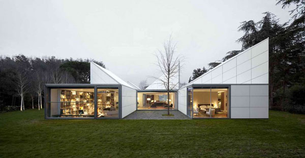 Origami house by oab carlos ferrater for Carlos ferrater