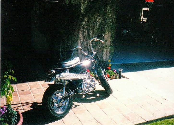 Brock Chobar 1971 Custom Honda Minibike