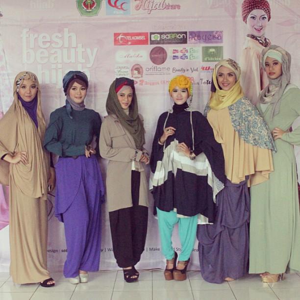 Captured Fresh Beauty Hijab Fashion Show