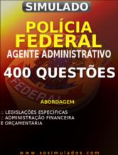 concurso da pf agente administrativo questões para a pf apostila para pf lei 7.102/1983 lei 10.357/2001 concurso pf 2013 simulado para pf