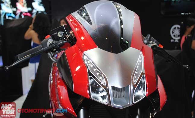 Modif Yamaha Vixion Lightening