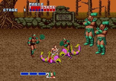 Golden Axe no Mega Drive