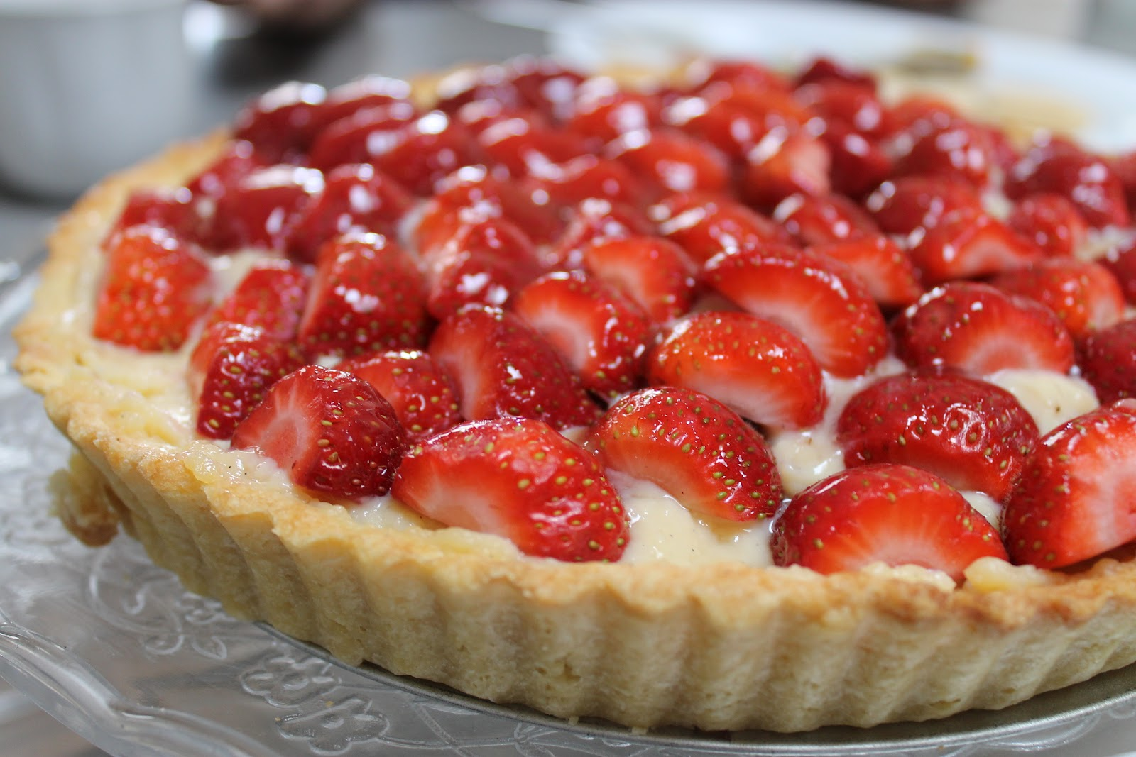 French Strawberry Tart | www.pixshark.com - Images ...