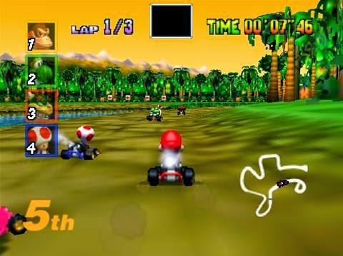 Descargar Mario Kart 64. Juego portable y gratuito