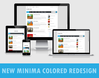 New Minima Colored Redesign by ArlinaDesign