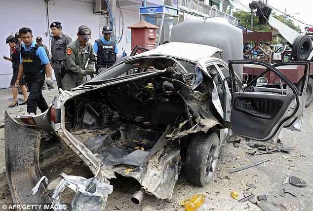 Pakar pelupusan bom Thailand selamat dalam letupan kereta