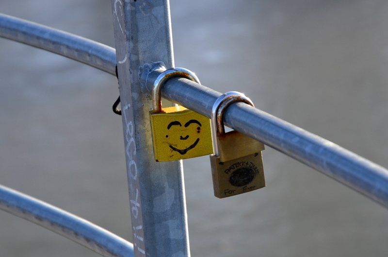 smiley padlocks