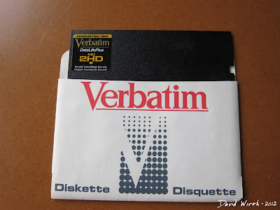 Verbatim 2HD Diskette Floppy Disc