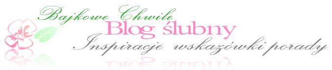 Bajkowe chwile blog ślubny poradnik