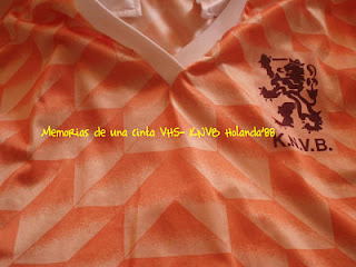 Camiseta Holanda, Países Bajos, Euro 1988, Holland, Netherlands,