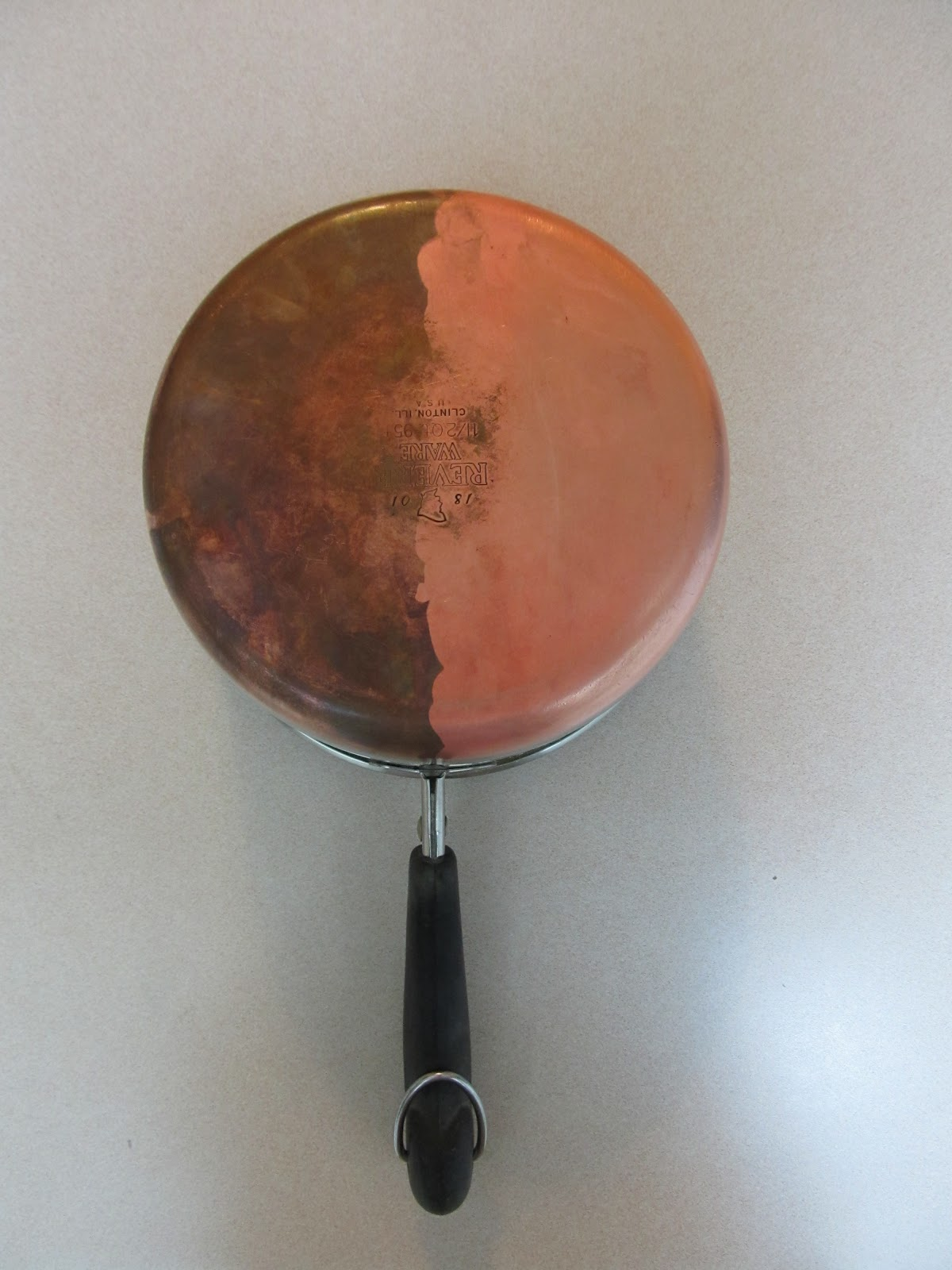 Copper pots and pans cleaning service
