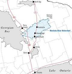 Muskoka Watershed key.