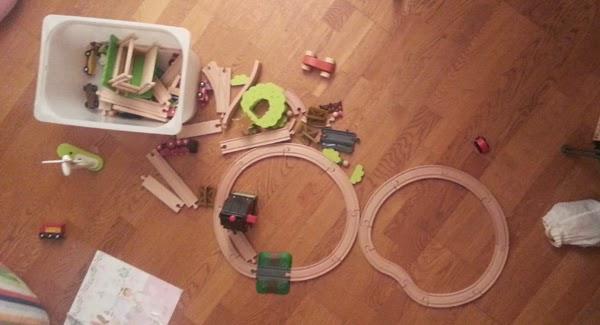 trains en bois Brio