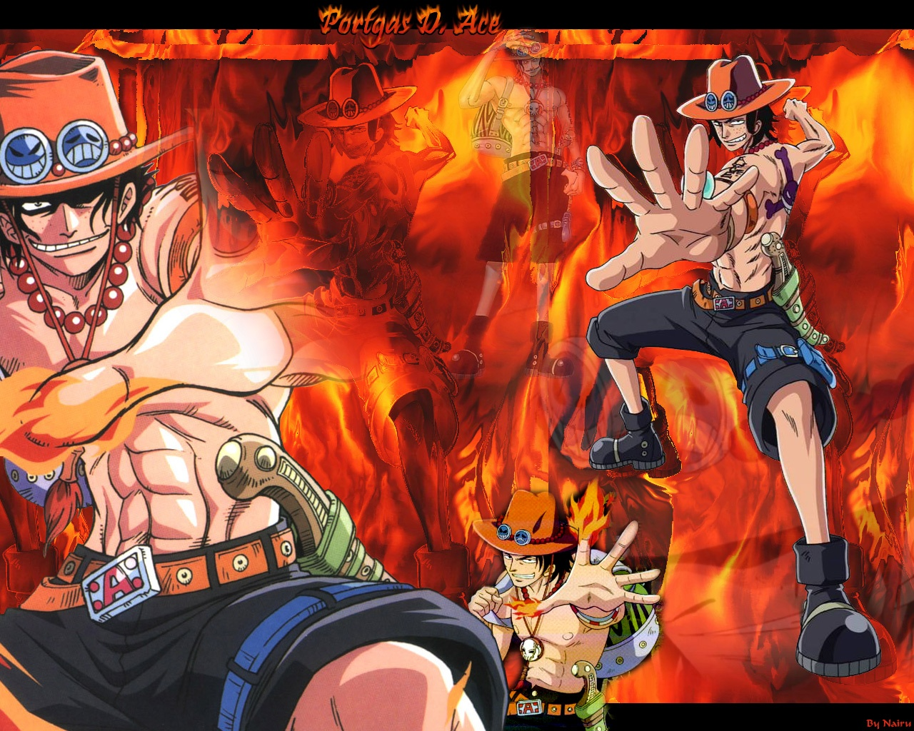 RockPubAno One Piece Portgas D Ace
