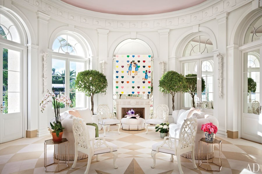 Loveisspeed two breathtaking estates in the for Interior designers palm beach