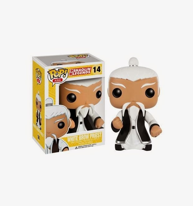 Funko Pop! Asia White Brow Priest
