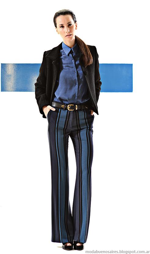 Mancini otoño invierno 2014 colección. Pantalones de moda mujer invierno 2014.