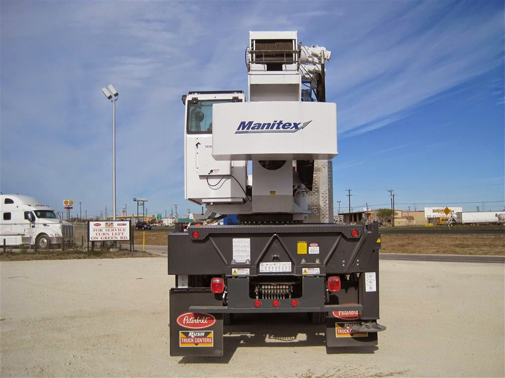 Trucks are located in san antonio tx first up manitex now its national s turn