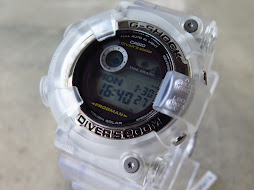 CASIO G-SHOCK FROGMAN GF-8250-9DR TRANSPARANT JELLY BEZEL AND BAND - TOUGH SOLAR