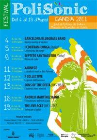 Cartell Polisònic 2011