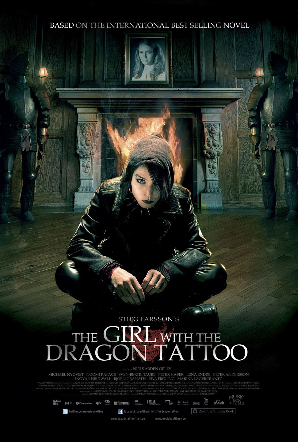 Happyotter the girl with the dragon tattoo 2009 for Dragon tattoo book