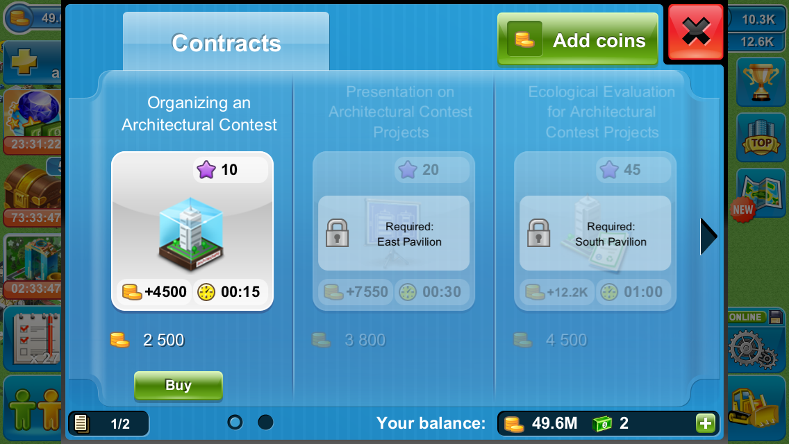 Making contracts more profitable