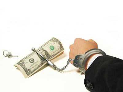 Корупция плаща пари изнудване рекет corruption