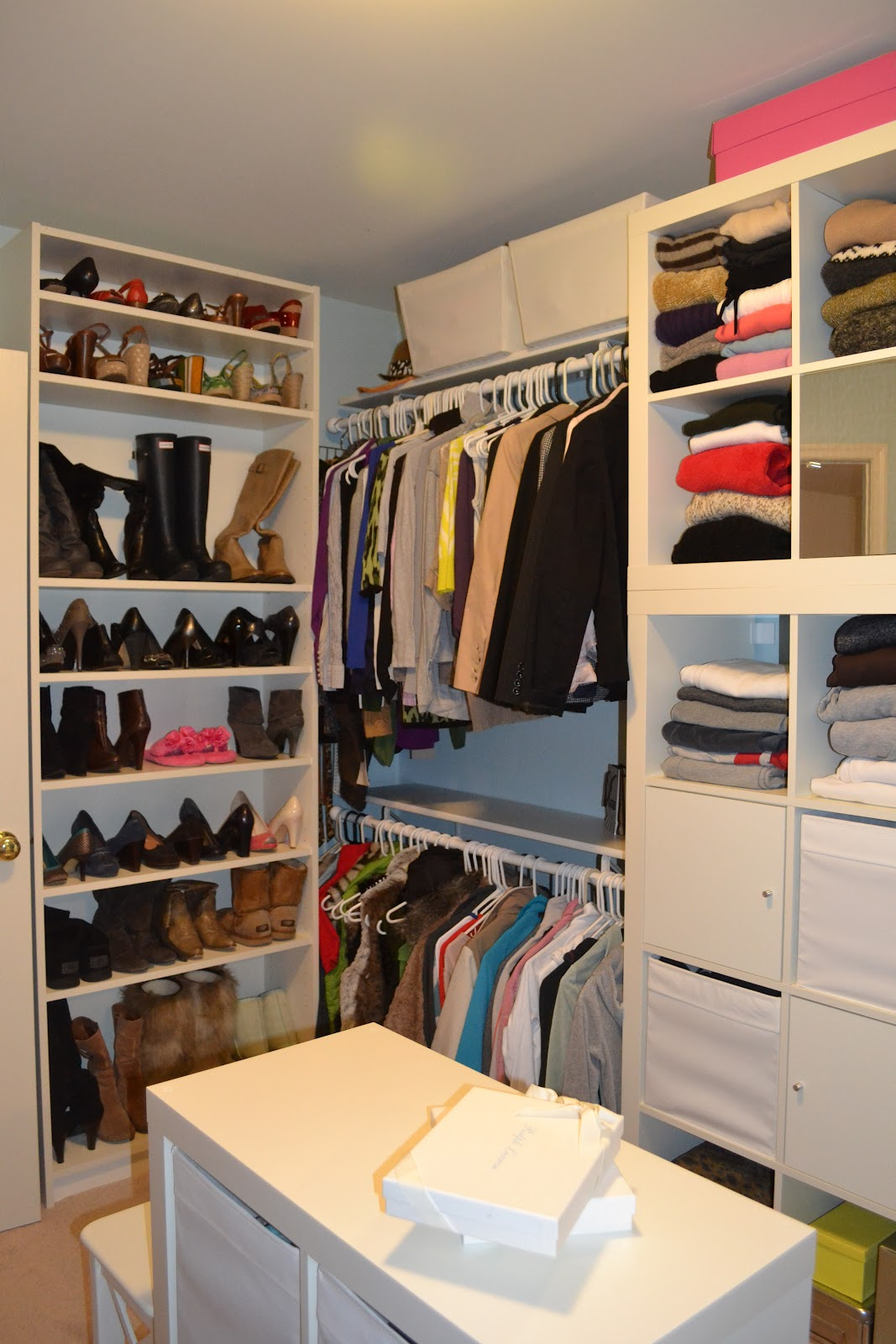 Billy Bookcase Closet Organizer Part - 16: Master Closet Makeover
