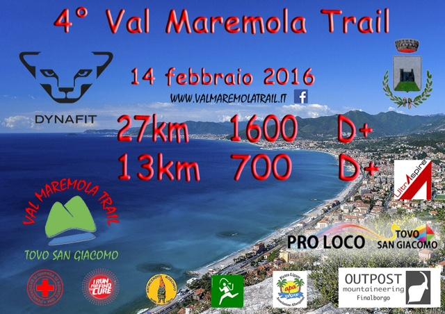 Trail in Val Maremola