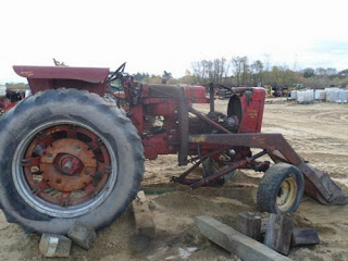 International 656 tractor