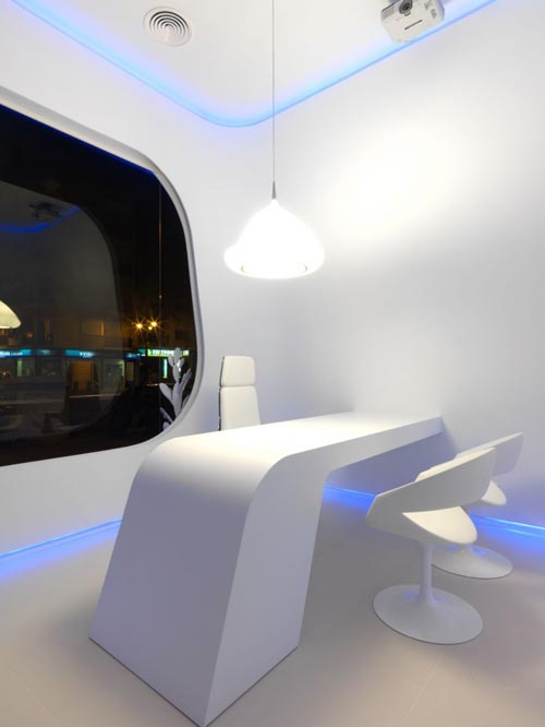 'Hidrosalud' elegant office lighting fixtures design