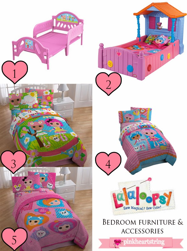 then these are the basic things you need for the bedroom  I have  gathered beds  bed covers  pillow covers and other things needed for  sleeping. Lalaloopsy Bedroom Furniture and Accessories for Your Little